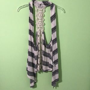 Striped Papaya Dress